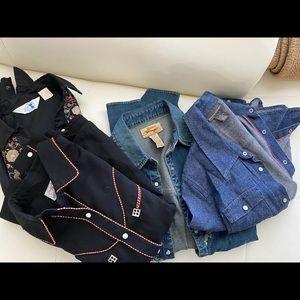 SOLD - Western Shirts Bundle 🔥